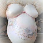 Babybauch-Gipsabdruck