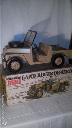 GEYPERMAN GEYPER MAN ORIGINAL AÑOS 70 Land Rover desierto en caja años 70 IMPECABLE