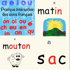 This interactive powerpoint helps students learn simple vowel and double letter French sounds. French Teaching Resources, Teaching French, Teaching Tools, Teaching Math, Student Learning, Fun Learning, Smart Board Activities, Math 5, Core French