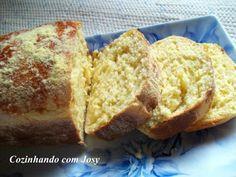 Pão Doce de Milho - Cozinhando com Josy