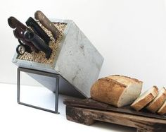 Concept The knife block is a quintessential piece that lives on the counter top of most kitchens. Usually its function outweighs its form… a utilitarian object