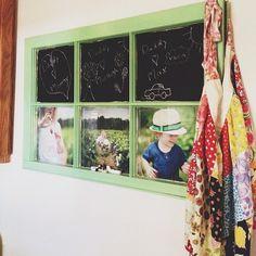 Old window idea courtesy of Deanna McCasland