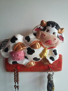 Cows, Biscuit, Polymer Clay, Barbie, Ceramics, Christmas Ornaments, Holiday Decor, Crafts, Embellishments