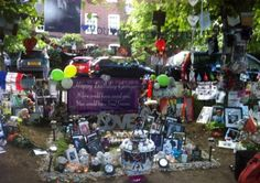 George Michael fans gather in Highgate to mark his 54th birthday
