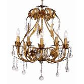 Found it at Wayfair - Ballroom 5-Light Crystal Chandelier