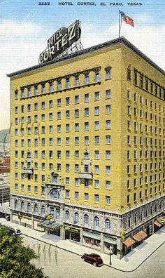 The historic Hotel Cortez in downtown El Paso.