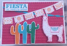 Birthday Fiesta Stampin' Up! 2016-17 Annual Catalogue