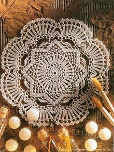 crochet home: crochet doilies