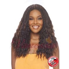 Vanessa Tops Crochet Braid Lace Front Wig TCB BOLA (C Side Lace Part)