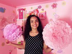 pompones decorativos , decora tu cuarto . CREATIVAS - YouTube Paper Flowers, Youtube, Paper Envelopes, Pom Poms, Garlands, Weddings, Creativity, Flowers, Youtubers