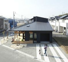 Agui House by Alts Design Office -- channeling Ryo-anji...