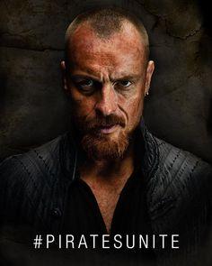Toby as Captain James Flint, Black Sails
