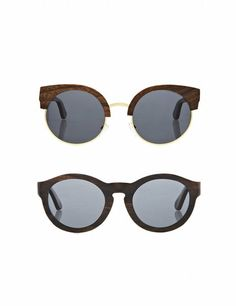 Sunglasses | ELLE UK  Finlay & Co  Carven from wood, these are timeless frames for the discerning style maven. Choose from five different style in walnut, ebony, zebrano or rosewood.