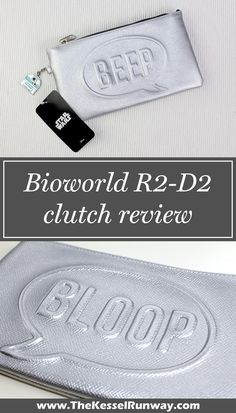 Bioworld x Star Wars R2-D2 Beep Bloop debossed clutch review ⭐️ Star Wars fashion ⭐️ Geek Fashion ⭐️ Star Wars Style ⭐️ Geek Chic ⭐️