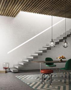 Prachtig deco stucwerk met Cadoro (bianchi) van SanMarco. Dream It Do It, Build My Own House, Retail Space, Luxury Decor, Metallic Paint, Dream Vacations, Living Spaces, Stairs, Painting