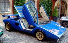 "Lamborghini Countach LP400 ""Walter Wolf"" at Villa d'Este"