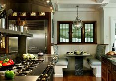 Like the raised pass above the cooktop Traulsen Design Ideas, Pictures, Remodel and Decor