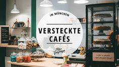 We went in search of the rather inconspicuous, but from the inside quite enchantingly convincing cafés in Munich. Cafe Restaurant, Restaurant Den Haag, Container Cafe, Places Worth Visiting, Munich Germany, Best Location, Germany Travel, The Good Place, Amsterdam