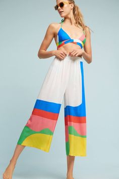These Mara Hoffman Piper Beach Pants Are Perfect For Your Resort Vacation At Scrub Island