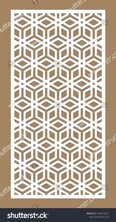 Find Laser Cutting Arabesque Vector Panel Template stock images in HD and millions of other royalty-free stock photos, illustrations and vectors in the Shutterstock collection. Jalli Design, Grill Design, Pattern Design, Cafe Design, Laser Cut Panels, Laser Cut Metal, Laser Cutting, Laser Cut Patterns, Stencil Patterns