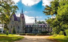 Man Made Moszna Castle  Wallpaper