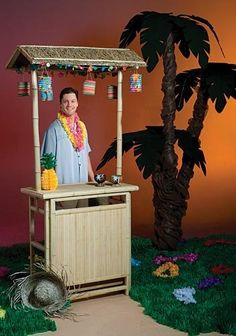 Tissue Pineapple Centerpiece by Shindigz. $1.99. Totally Tiki Bar/ Luau Hut This…
