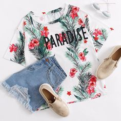 Wanna live in this paradise RN! Cute Outfits For School, Cute Girl Outfits, Junior Outfits, Cool Outfits, Summer Outfits, Casual Outfits, Looks Style, Casual Looks, Tween Fashion