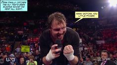 That's one annoying little shit out of the way - now where's Seth? credit JenJ@forever_ambrose