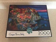 Buffalo Games Cinque Terre Italy Jigsaw Puzzle 2000 Piece   | eBay