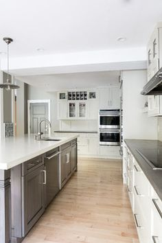 Concrete Countertops By Brooks Custom Kitchen Renovation   Transitional    Kitchen   Boston   The Cabinetry