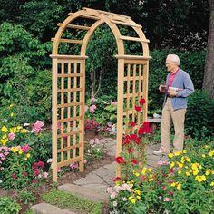 lowes garden arbors trellises