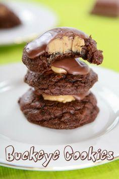 Buckeye Cookies -  bakingbeauty