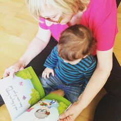 My mom and nephew reading their copy of the book! Awesome!! #thehipheroes #childrensbook #childrensbooks
