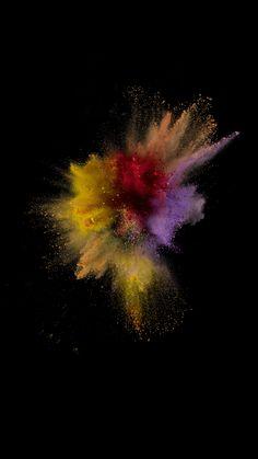Polvo amarillo iPhone 6S iPhone 7 iOS 9 http://iphonedigital.es/mejores-fondos-pantalla-para-iphone-6s-plus-hd-1/ #iphonewallpaper #iphone6 #iphone6s #fondospantalla #fondosdepantalla #ios9 #iphone7