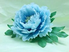 Blue Peony by Grazie cake and sugarcraft studio