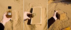 Bio-manufactured bricks, made of sand and non-pathogenic bacteria. They don't have to be fired. The bacteria harden the sand by inducing calcite precipitation. Houses made of bacteria could save 800 million tons of CO2. Developed by architecture professor Ginger Krieg Dosier, a professor at the American University of Sharjah, in the United Arab Emirates.