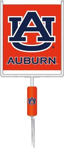 Auburn University Tigers Goal Post Set by Fans With Pride. $39.95. Metal goal post. Faux safety pad. Includes applique flag. Embroidered logo. This is a decoration like no other, full of team spirit and its own unique style! A surprising touch to a game day party or a favorite accent to showcase your team pride year-round, this goal post flag set will look great on your lawn! There will be no question where your loyalties lie.