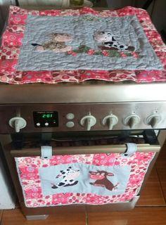 jogo americano cobre forno e cobre fogão