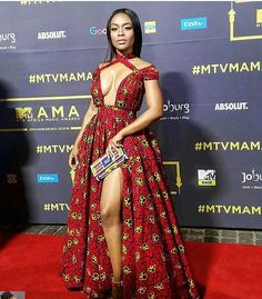 Miss Mbatha showed up to slay