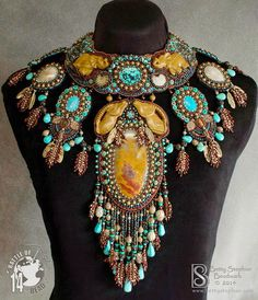 Beautiful necklaces from BOTB 2014 (II)