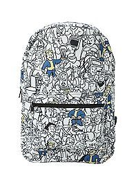 HOTTOPIC.COM - Fallout Vault Boy Print Backpack