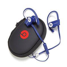 """""""IN WHITE!! LOVE IT!! Beats Powerbeats 2™ Wireless Headphones w/Case & Songs"""
