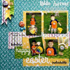 Latina Crafter - Sellos en Español: Desde el Taller de Hilda: Lo' Happy Easter