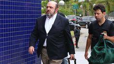 Presidente da construtora UTC, empresário Ricardo Pessoa chega a Superintendência da Polícia Federal no bairro da Lapa, Zona Oeste de São Paulo - 14/11/2014
