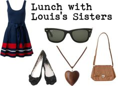 Lunch with Louis's Sisters