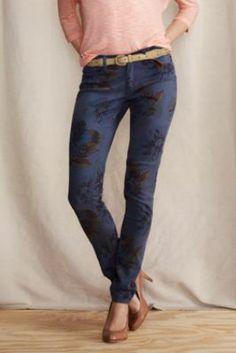 Super Skinny Floral Pants