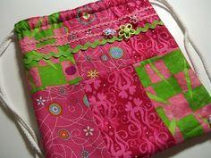 Drawstring Backpack Tutorial