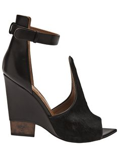 Givenchy Open Toe Wedge