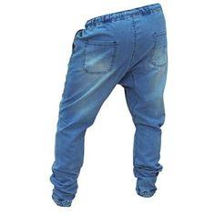 Pantalon Vagos Jogger Para Caballero -Azul Claro