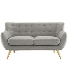 Home Decorators Collection | Modway Remark Loveseat Light Gray *** To view further for this item, visit the image link. Note:It is Affiliate Link to Amazon.